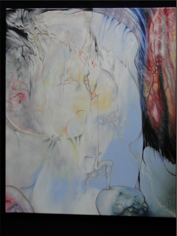 Oil Splinter from Deaf Center, 2011, 50x70 cm