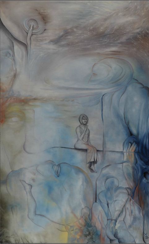 Oil Splinter from Deaf Center, Teil 2, 2011, 50x80 cm